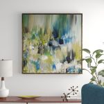 summer-pond-ii-picture-frame-oil-painting-print-on-canvas